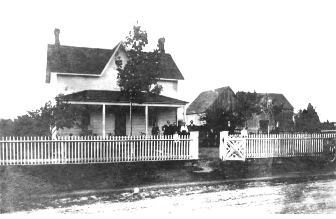 Photo of The home of John and Barbara Cowey