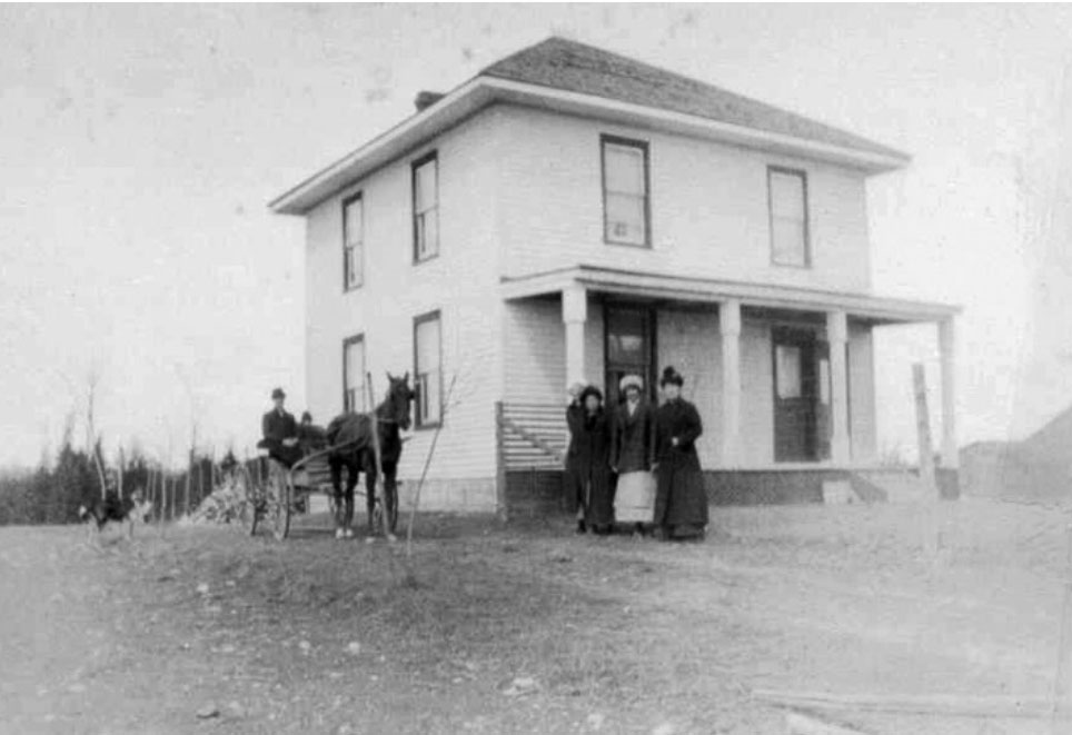 Photo of The home of Frank and Ruby Cowey west of John's