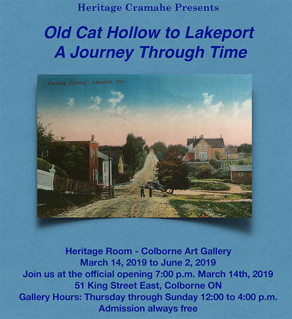 Old Cat Hollow to Lakeport - A Journey Through Time